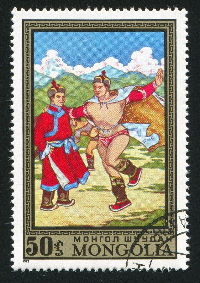 Arrancar do Mongolian imagem de stock royalty free