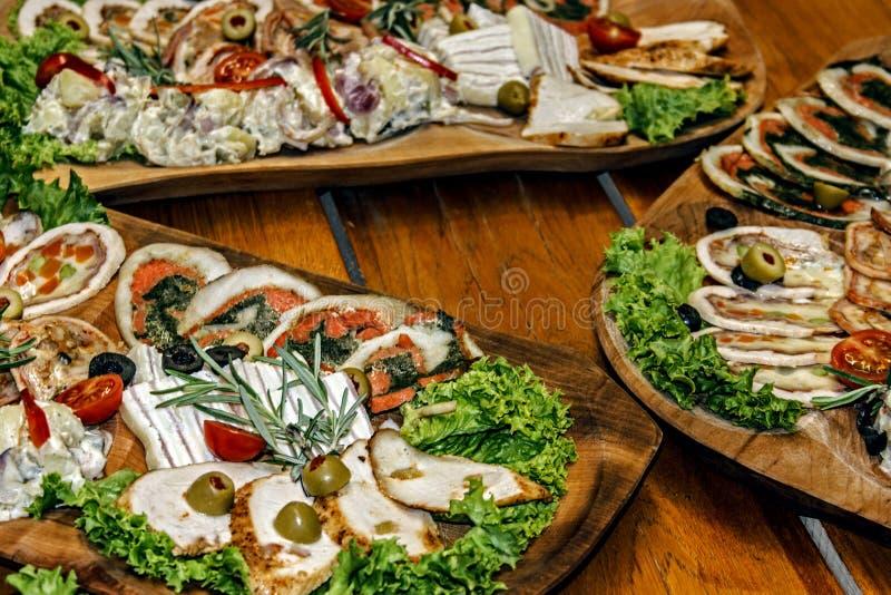 Download Arrangement of food 50 stock image. Image of fish, low - 39507257