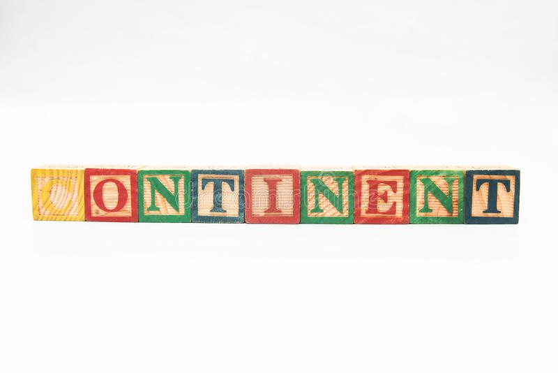 The arrangement of letters forms one word, version 115 stock images