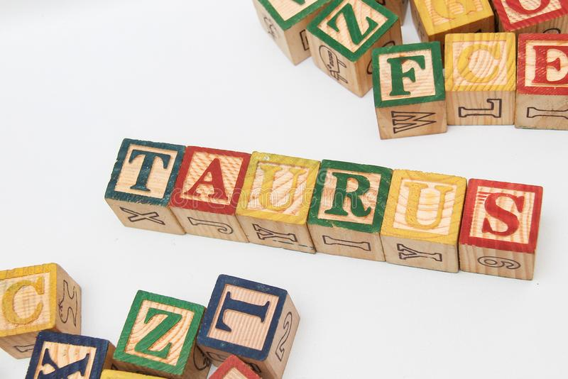 The arrangement of letters forms one word, version 65 stock image