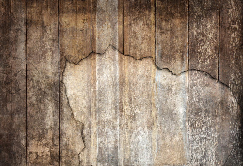 Arrangement of old panel wood textured panel use as grain wooden royalty free stock photo