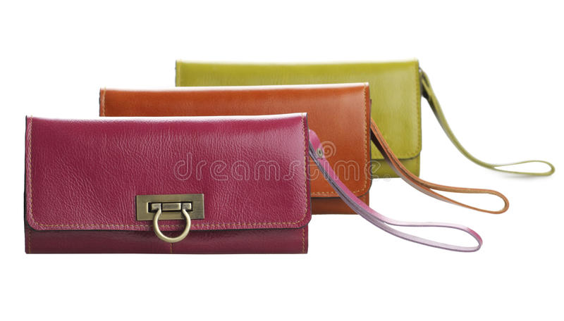 Download Arranges Genuine Woman Leather Wallets Stock Image - Image: 21995709
