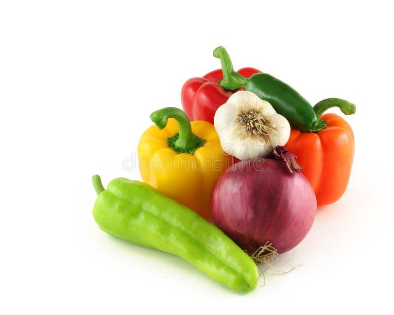 Arrangment des Gemüses stockfotografie