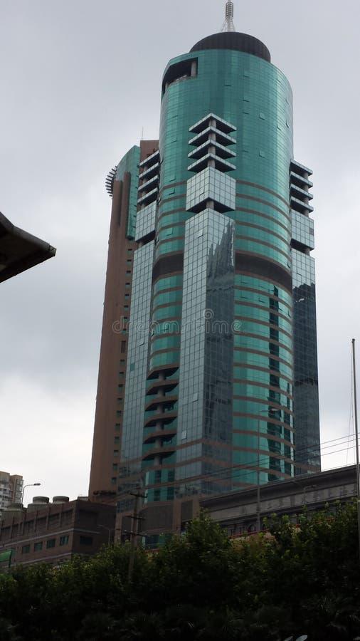 Arranha-céus cubista imagens de stock royalty free
