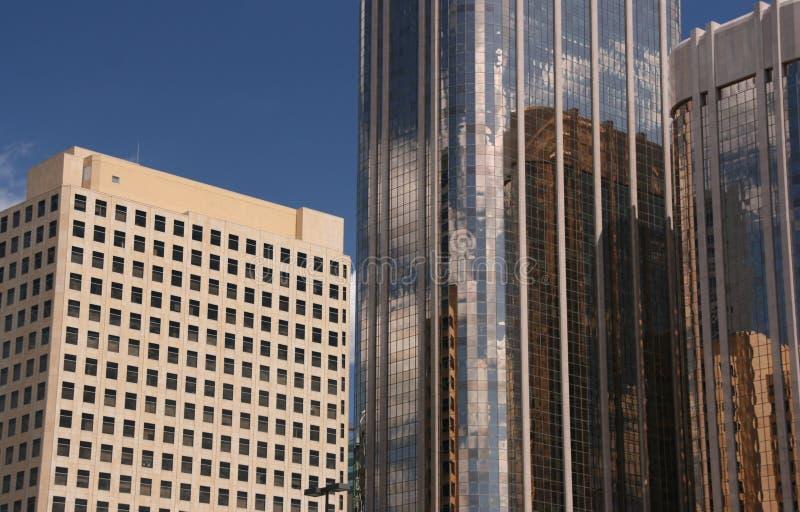 Arranha-céus de Calgary imagem de stock