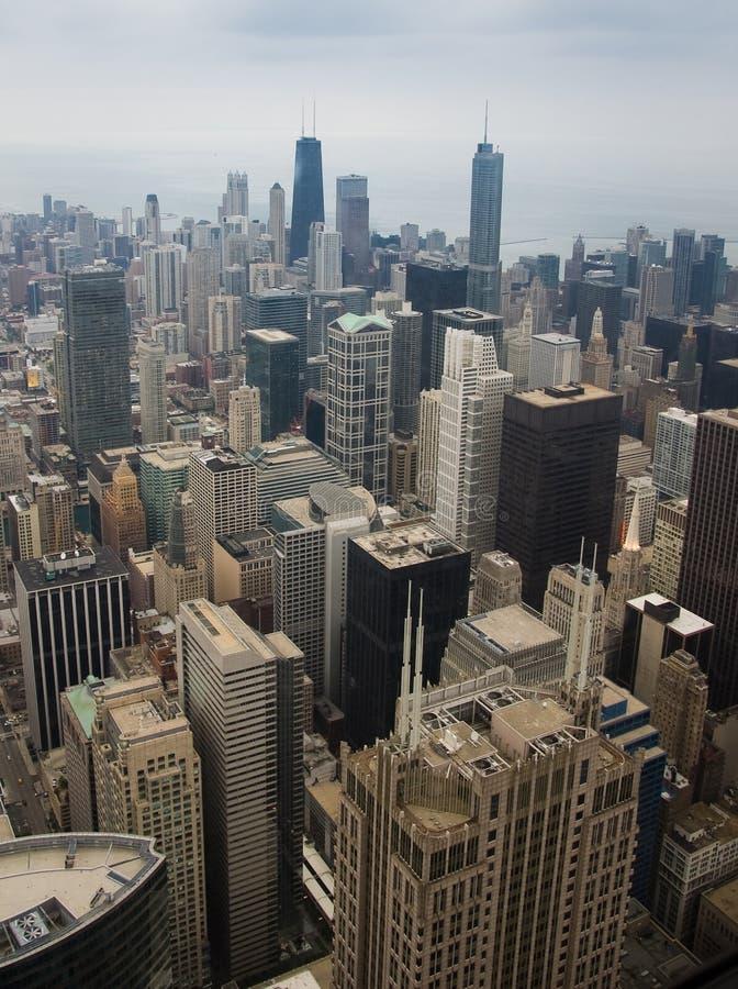 Arranha-céus de Chicago foto de stock