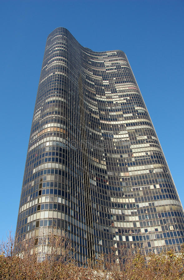 Arranha-céus de Chicago foto de stock royalty free