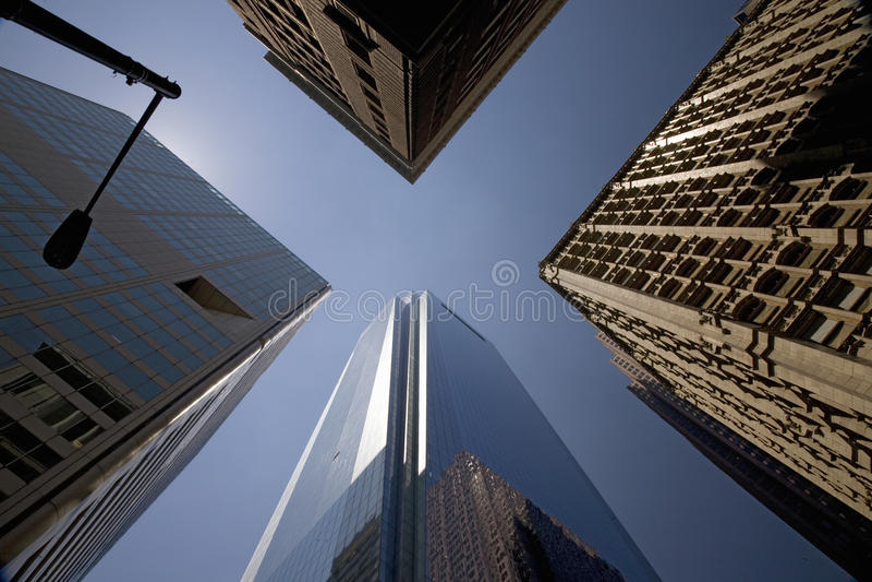 Arranha-céus De Comcast Em Philadelphfia Foto de Stock Royalty Free