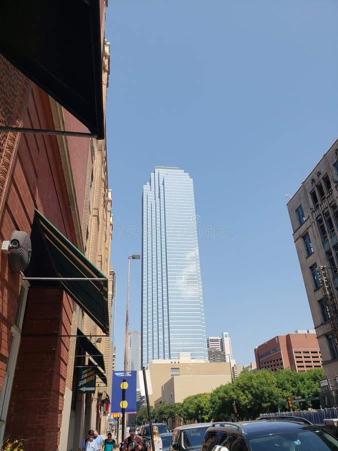 Arranha-céus de Dallas foto de stock royalty free
