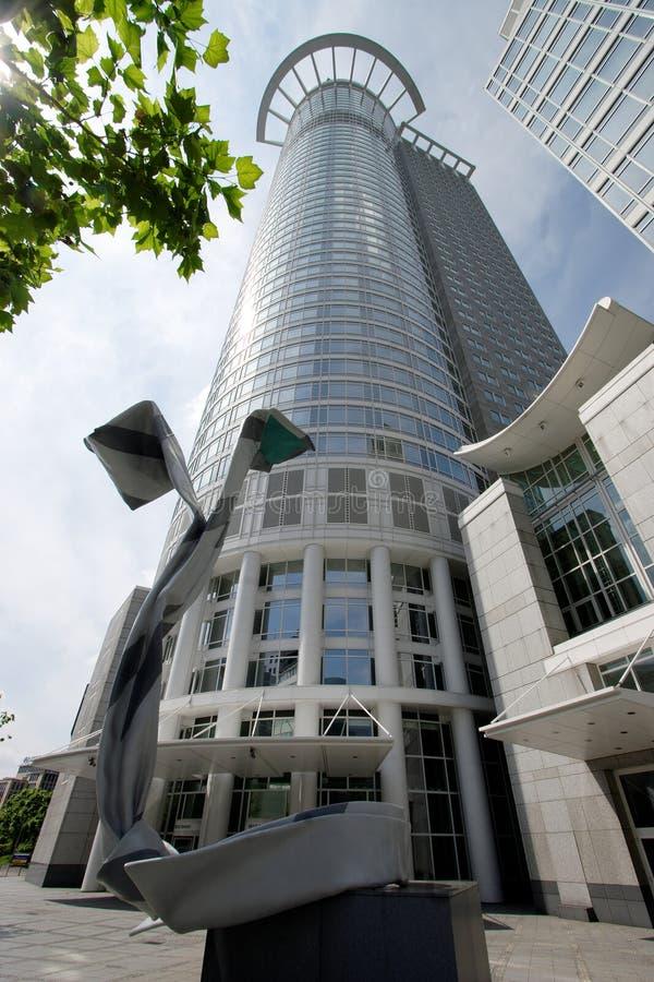 Arranha-céus de Francoforte fotos de stock royalty free