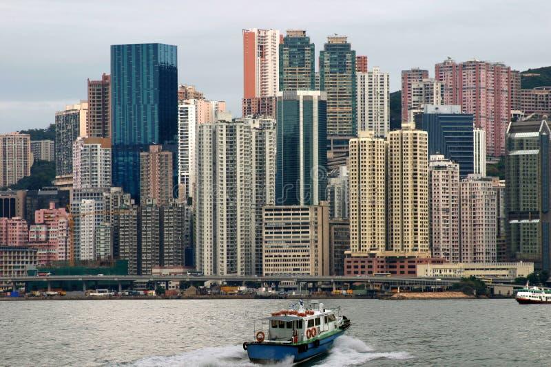 Arranha-céus de Hong Kong fotografia de stock royalty free