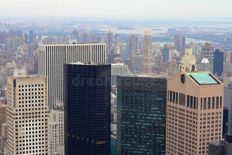 Arranha-céus de Manhattan fotos de stock royalty free