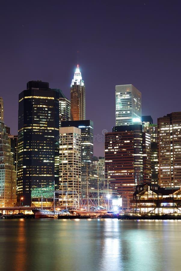 Arranha-céus de Manhattan em New York City imagens de stock royalty free