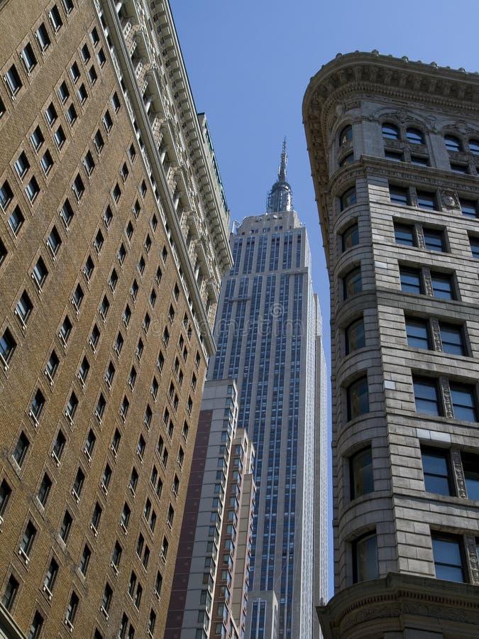Arranha-céus de New York imagens de stock royalty free