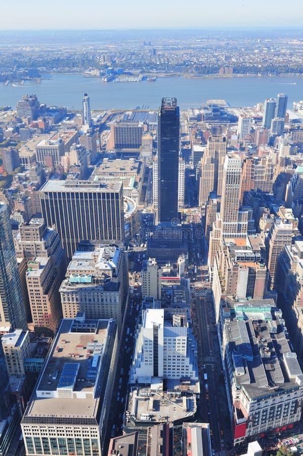 Arranha-céus de New York City foto de stock