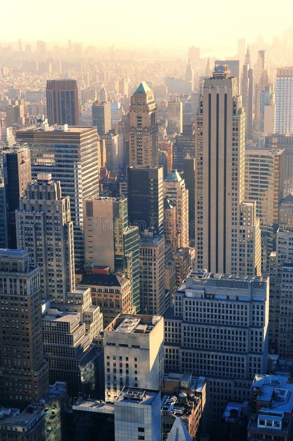 Arranha-céus de New York City imagem de stock