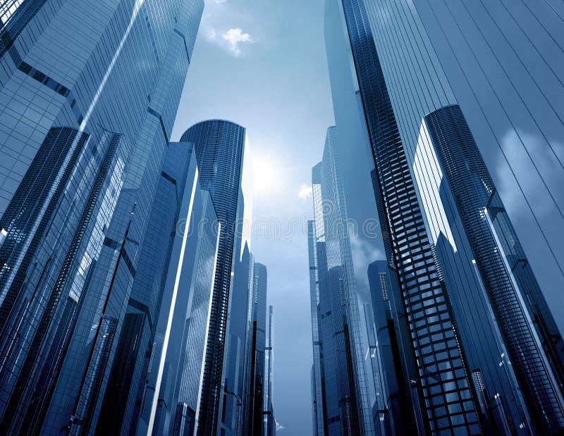 Arranha-céus de vidro
