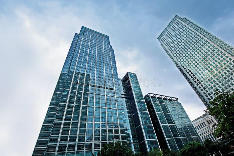 Arranha-céus de vidro modernos imagem de stock royalty free