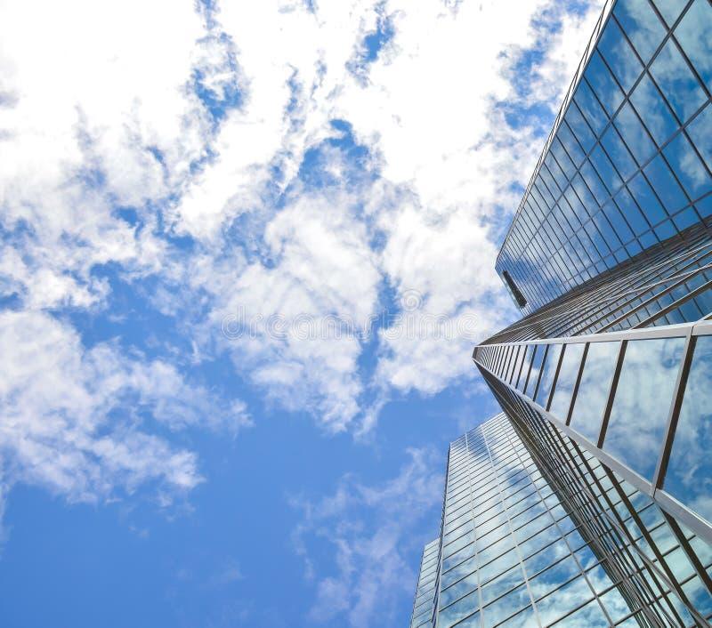 Arranha-céus diferentes em Ottawa do centro fotos de stock