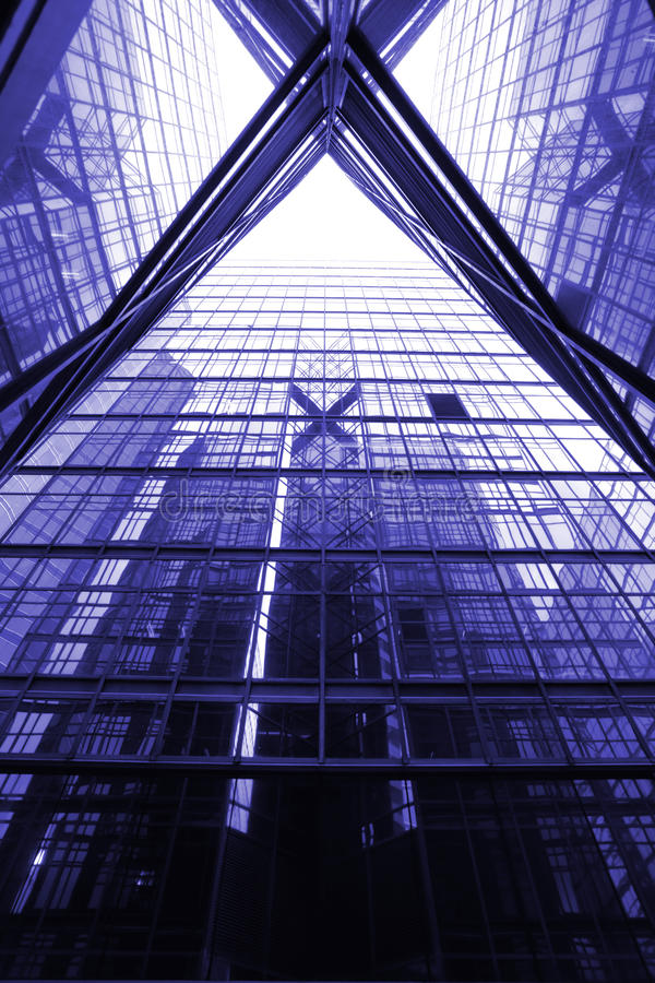 Arranha-céus dos escritórios imagens de stock royalty free