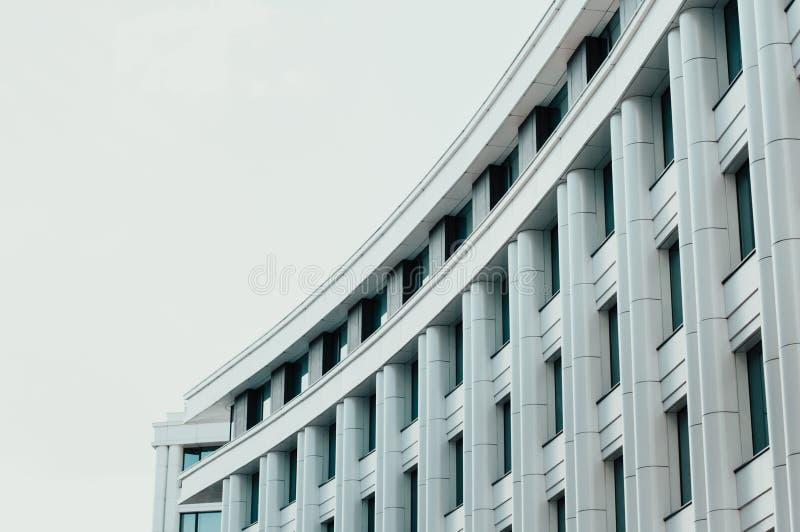 Arranha-céus elevado Centro de negócios moderno imagem de stock royalty free