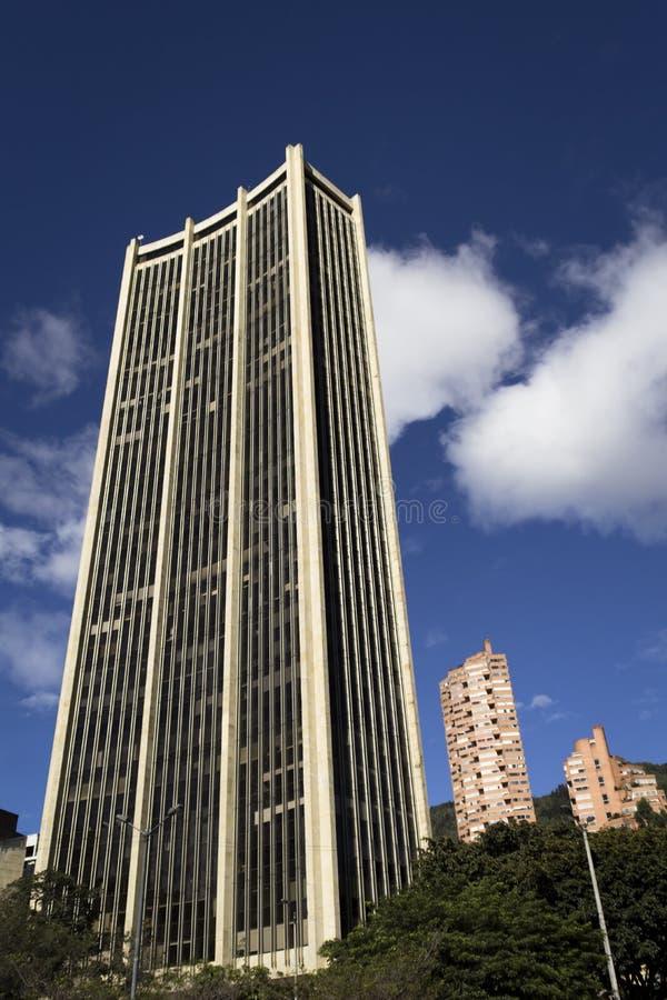 Arranha-céus em Bogotá fotografia de stock