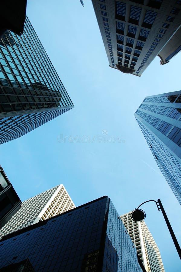 Arranha-céus em Hong Kong fotografia de stock royalty free
