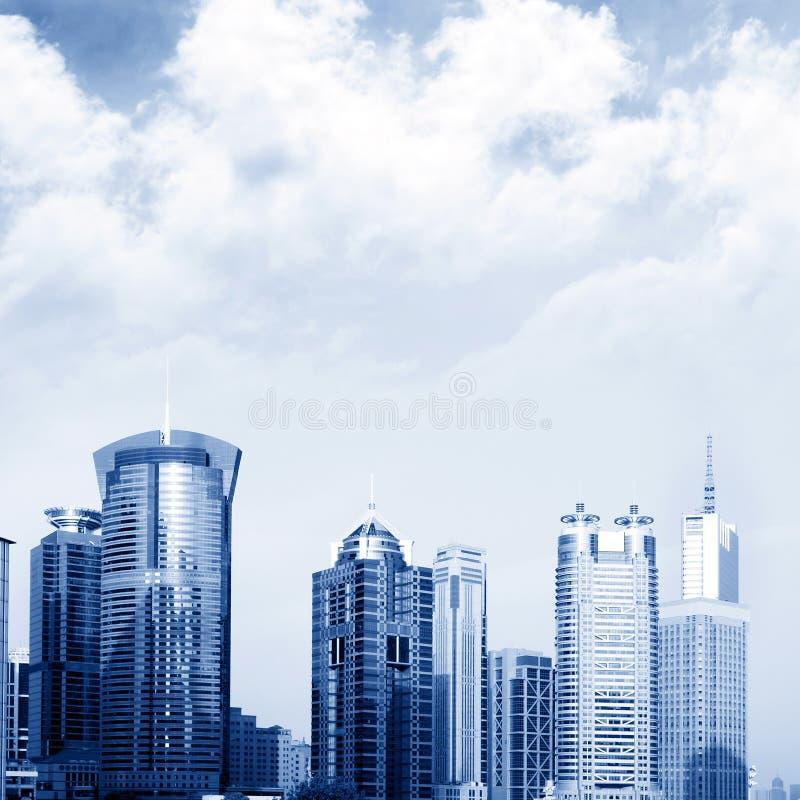Arranha-céus em Shanghai imagem de stock royalty free