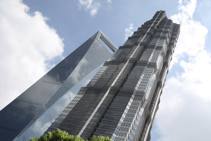 Arranha-céus em shanghai fotos de stock royalty free