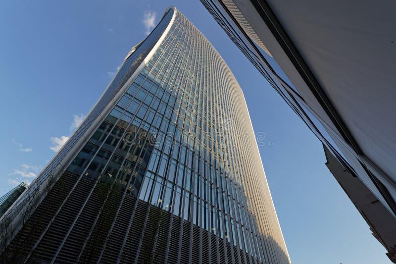 Arranha-céus moderno em Londres imagem de stock royalty free