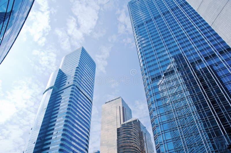 Arranha-céus modernos em Guangzhou imagem de stock royalty free