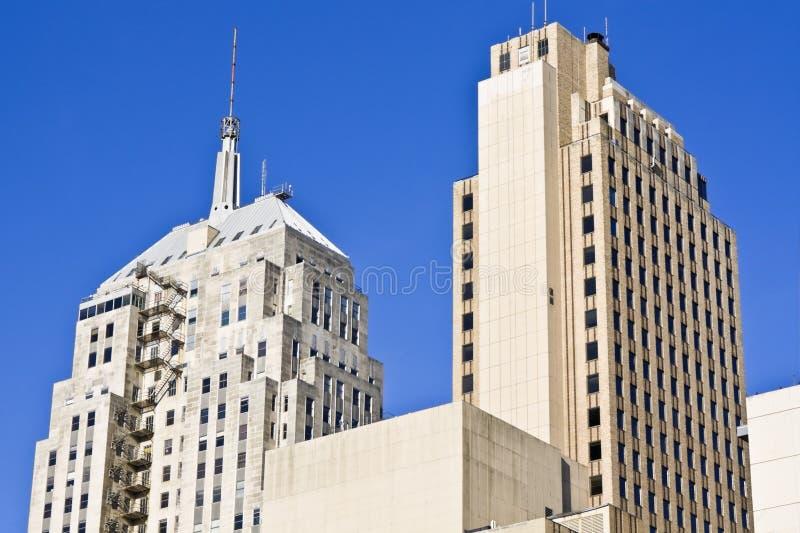 Arranha-céus no Oklahoma City imagens de stock royalty free