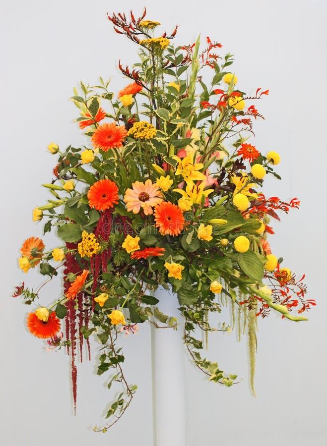 Arranjo de flor. imagem de stock