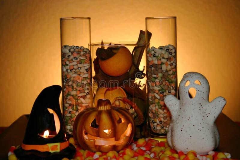 Arranjo de Halloween fotografia de stock