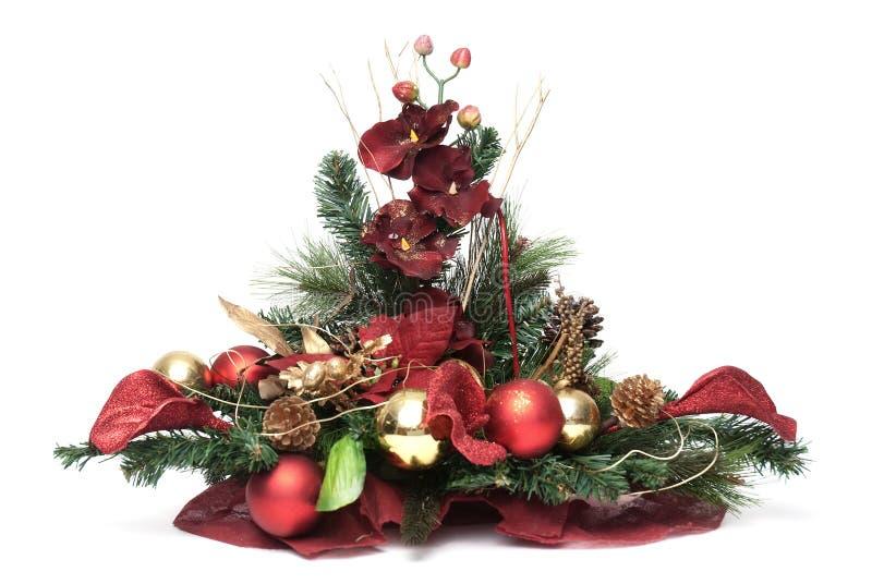 Download Arranjo do Natal imagem de stock. Imagem de spruce, isolado - 16862275