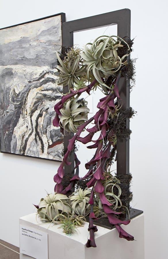 Arranjo floral em ramalhetes à arte 2014 fotos de stock royalty free
