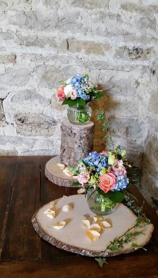 arranjos florais ingleses do vintage fotos de stock royalty free