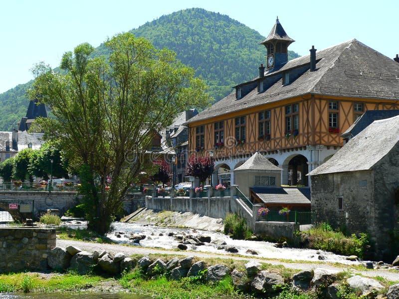 Download Arreau ( France ) stock image. Image of france, orange - 24219751