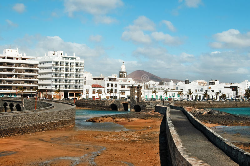 Download Arrecife, canary islands stock photo. Image of place - 13132692