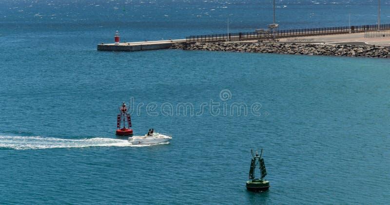 Arrecife haven stock afbeelding