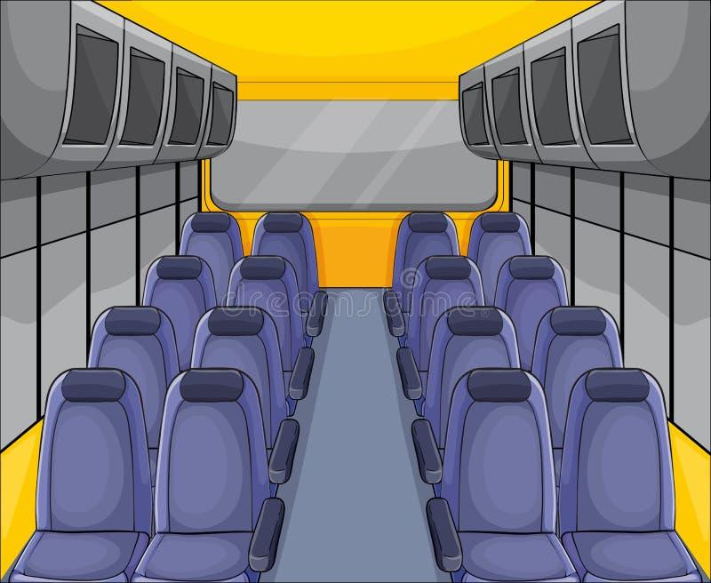 Arreglo del asiento de Vehical ilustración del vector