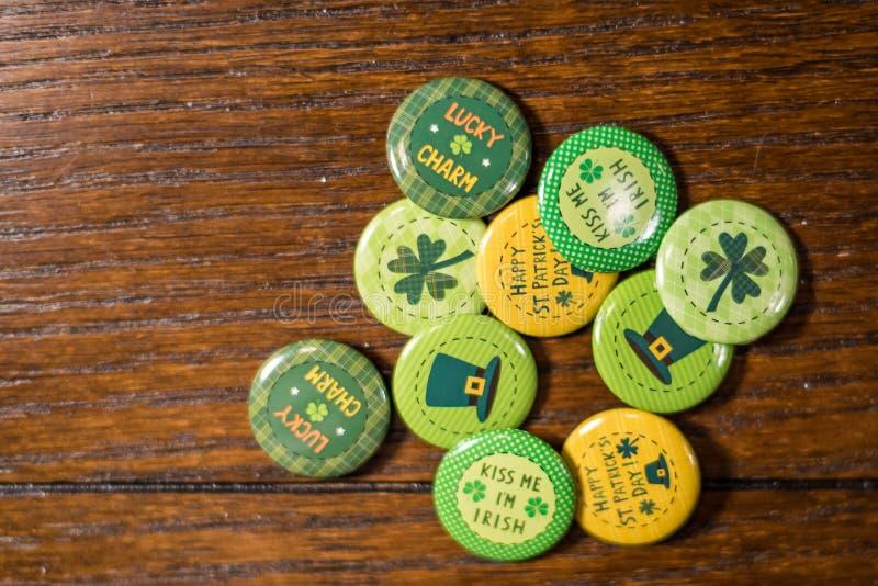 Arreglo del día de fiesta del día de Patricks del santo imágenes de archivo libres de regalías
