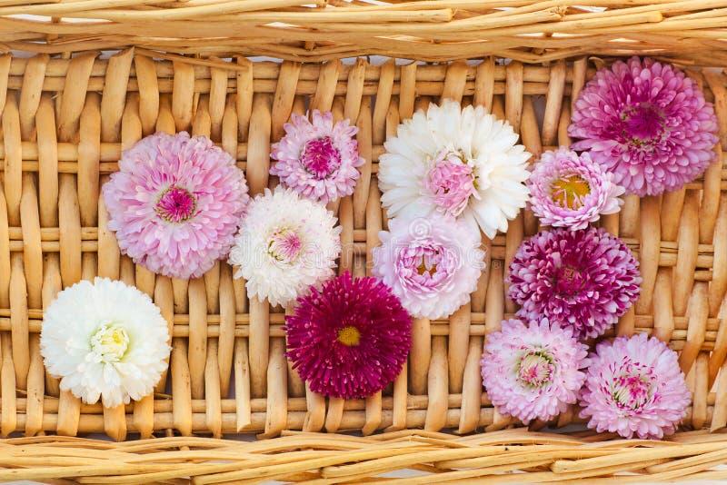 Arreglo floral del diseñador imagenes de archivo