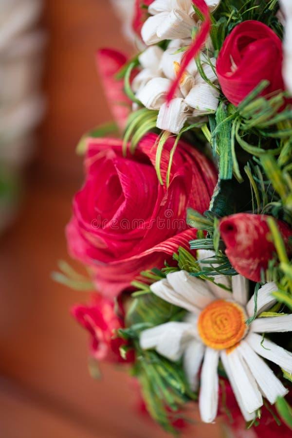 Arreglo floral Handcrafted foto de archivo libre de regalías