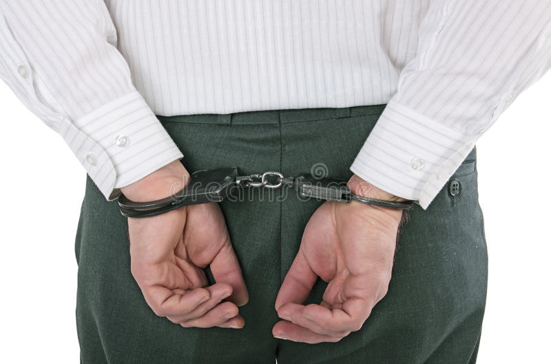 Download Arrest stock image. Image of fetters, person, detention - 12375009