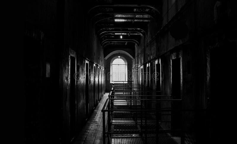 Arrest/fängelse i Irland royaltyfri foto