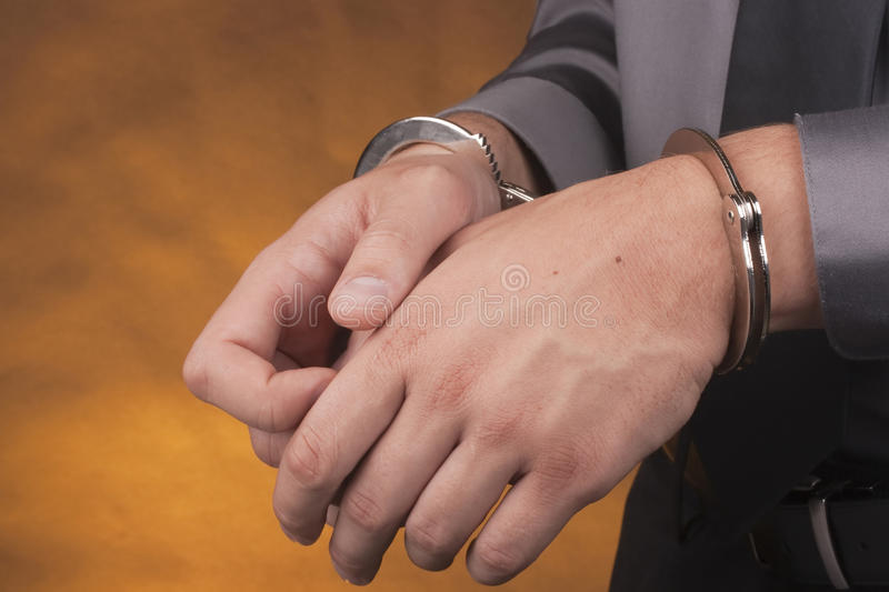 Download Arrest handcuffs stock photo. Image of handcuffs, apprehension - 16761136