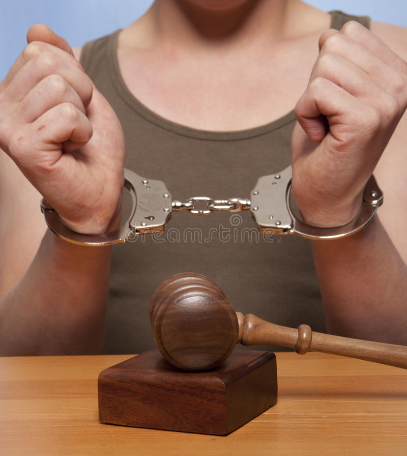 Download Arrest stock photo. Image of legal, cuffs, courtroom - 33833954
