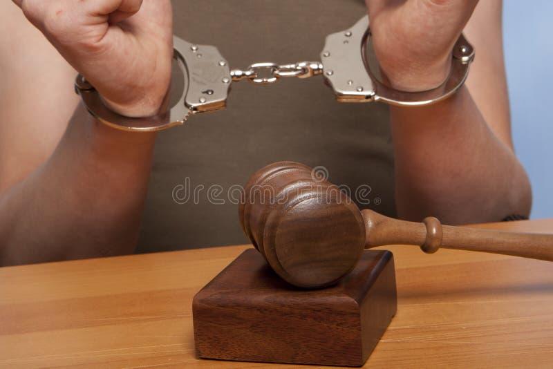 arrestatie stock foto