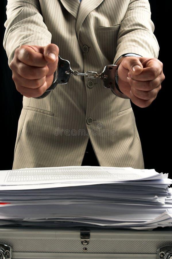Arrestation image stock